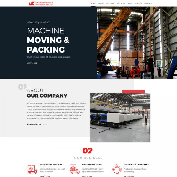 MK Machine Movers & Packers Sdn Bhd